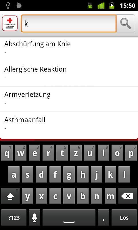 eErsteHilfe - Rotes Kreuz - screenshot