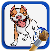 Coloring Book Dogs & Puppies