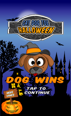 Cat Dog Toe Halloween - screenshot