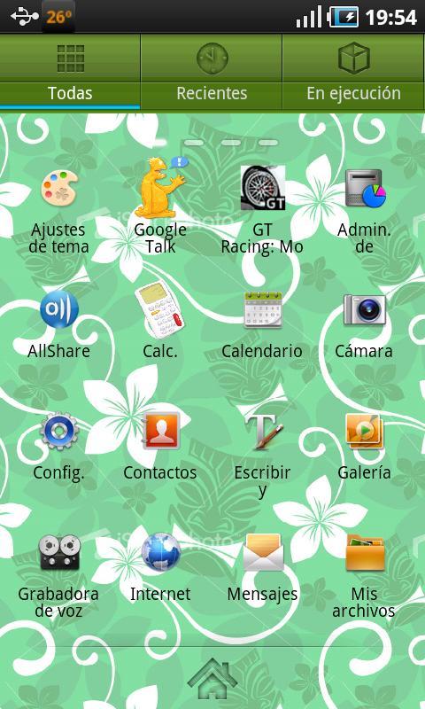Tiki Theme Go Launcher EX - screenshot
