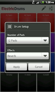 Electric Drums Free - screenshot thumbnail