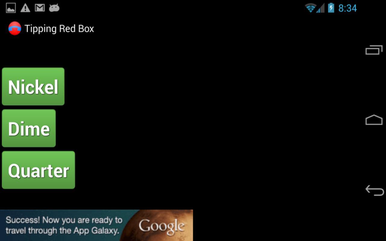 Tipping Red Box - screenshot