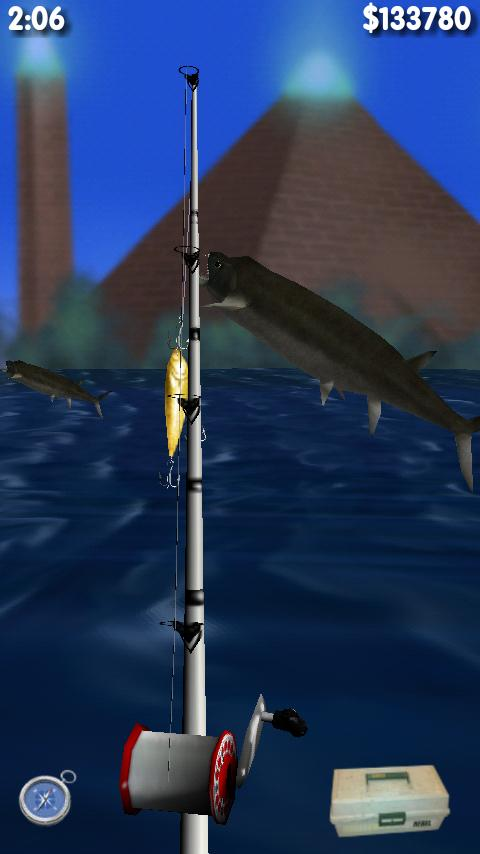 Big Dino Fishing 3D Lite - screenshot