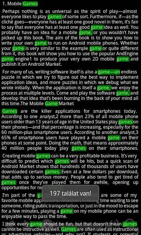 textReader- screenshot