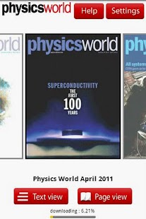 Physics World - screenshot thumbnail
