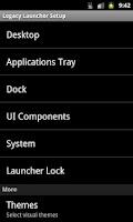 Screenshot of Legacy Launcher