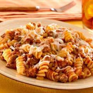 Skillet Pasta & Beef Dinner