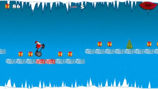 聖誕老人賽格威跳躍比賽