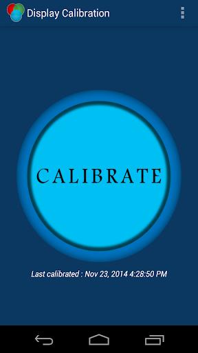 Display calibration Pro