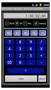 TCCalc Time Code Calculator- screenshot thumbnail