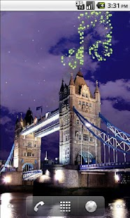 Tower Bridge Fireworks Live Wallpaper - náhled