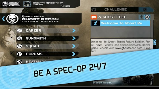 Ghost Recon Network - screenshot thumbnail