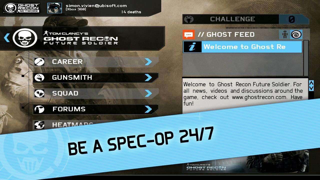 Ghost Recon Network - screenshot