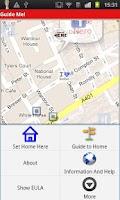 Screenshot of Walking Navigation (Guide Me!)