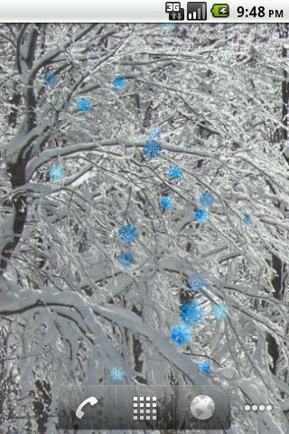 Snow Wall- screenshot