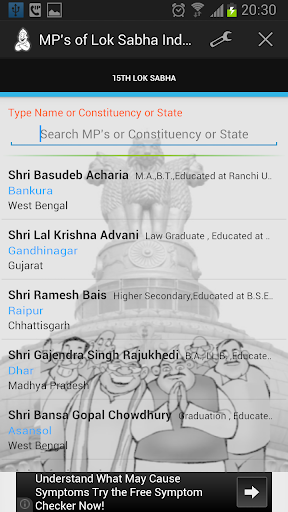 MPs Profiles India 15th LS