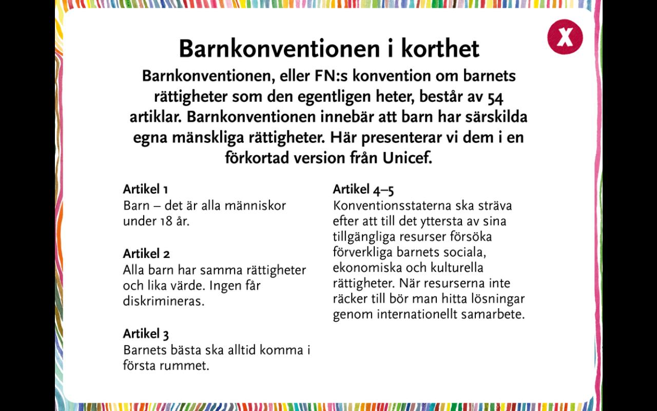 Alla barns rätt- screenshot