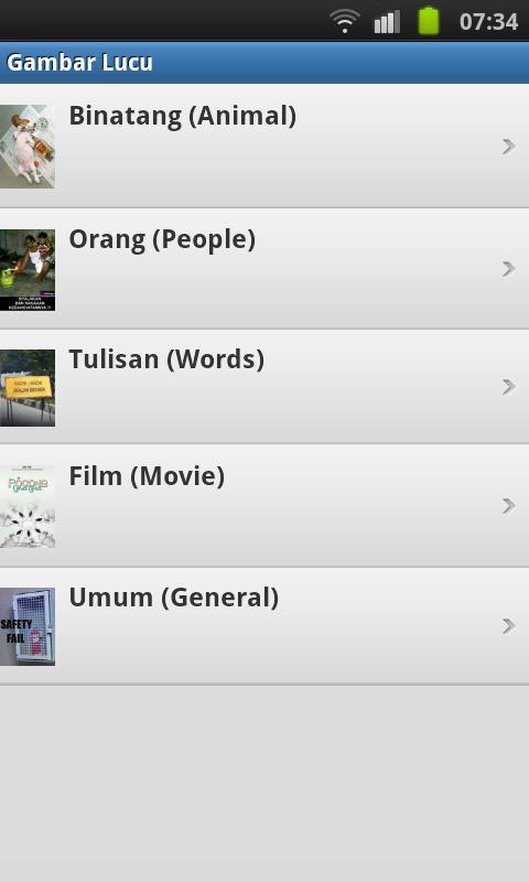 Gambar Lucu (Funny Pictures) - screenshot