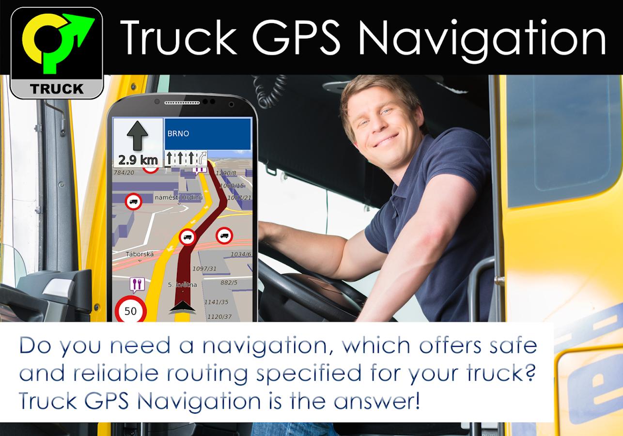 Truck GPS Navigation by Aponia - screenshot
