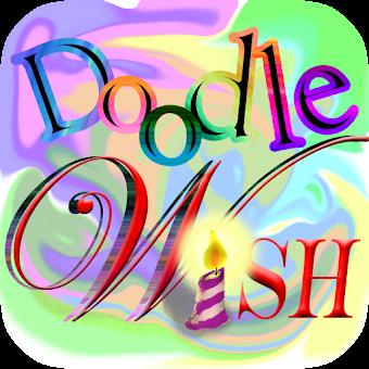 Draw Card Greeting Doodle Wish