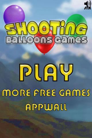 射撃バルーンゲーム - Shooting Balloons