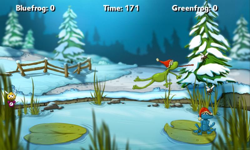A Frog Game Winter- screenshot