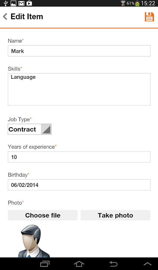 Inspection Form Manager- screenshot