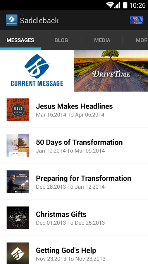 Saddleback Church - screenshot