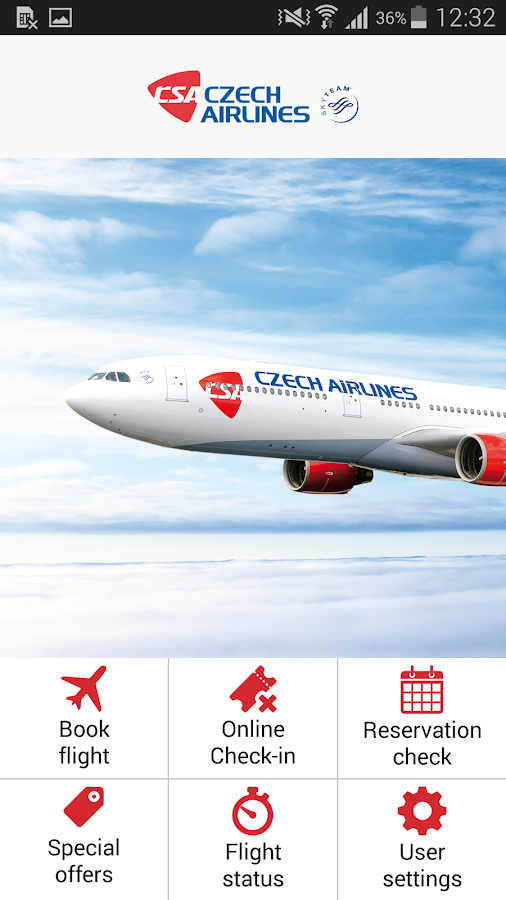 Czech Airlines- screenshot