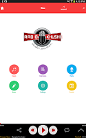Screenshot of RadioKhushi Hindi Telugu Radio