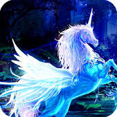 Unicorn HD Live Wallpaper