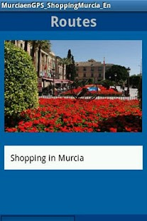 MurciaenGPS_Shopping_En - screenshot thumbnail