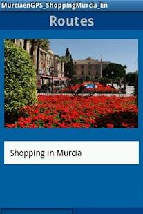 MurciaenGPS_Shopping_En - screenshot thumbnail