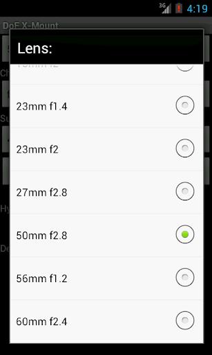 免費下載攝影APP|DoF X-Mount (Ad Free) app開箱文|APP開箱王