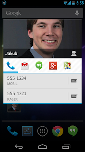 Stylish Contact Widget Free- screenshot thumbnail
