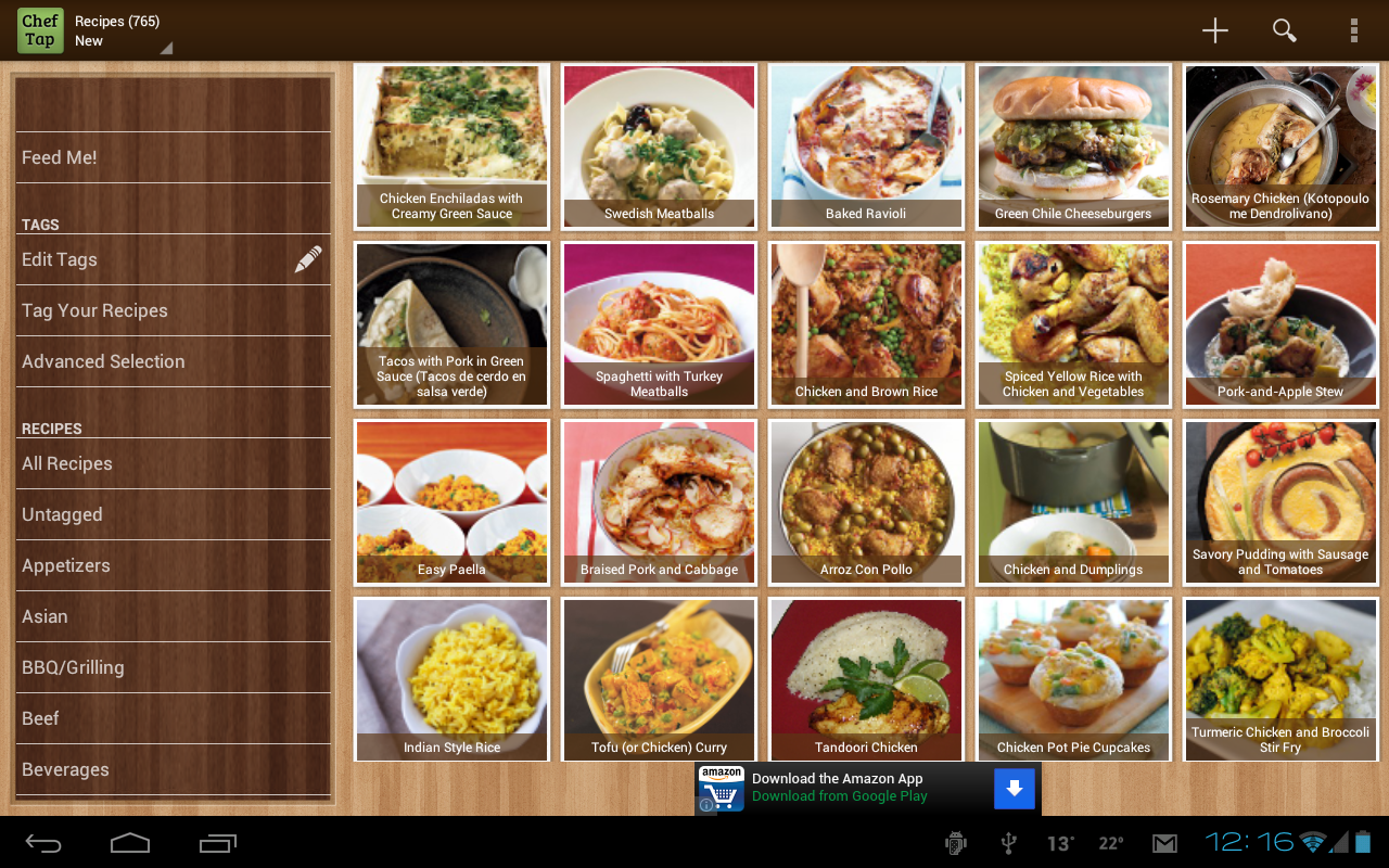 ChefTap Recipe App - screenshot