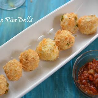Mexican Rice Ball Appetizer