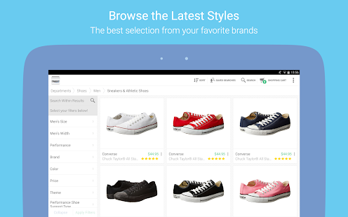 Zappos: Shoes, Clothes, & More- screenshot thumbnail