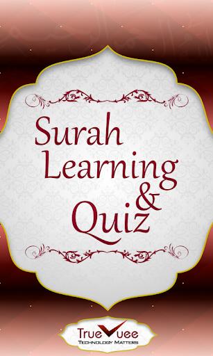 Surah learning Quiz Quran
