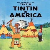 Comic Tintin in America