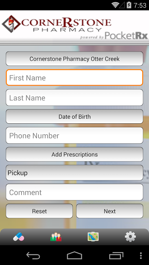 Cornerstone Pharmacy- screenshot