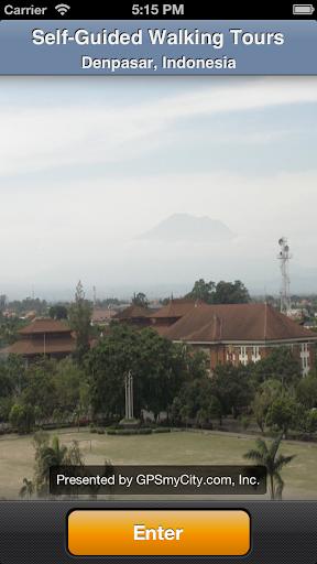 Denpasar Map and Walks
