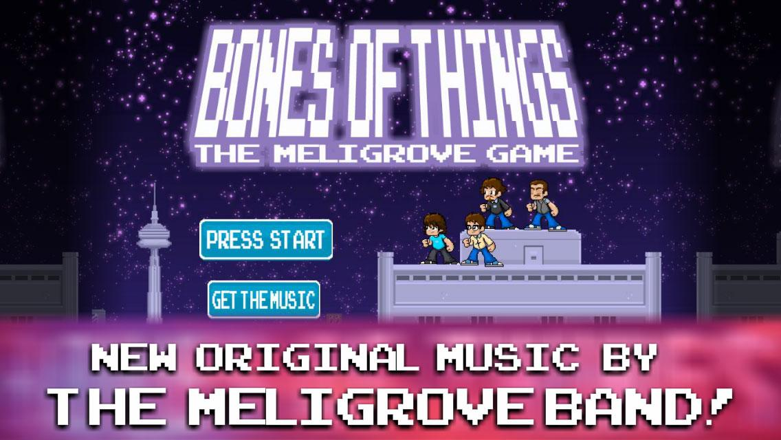 Meligrove Band Bones of Things- screenshot