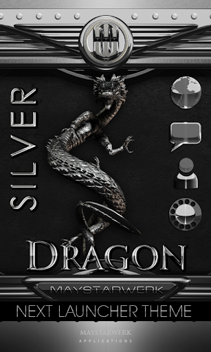 NEXT theme dragon silver