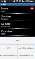 Screenshot of Spark New Zealand IP Centrex