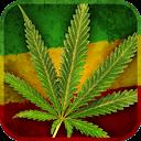 Marijuana Leaf HD Battery mobile app icon
