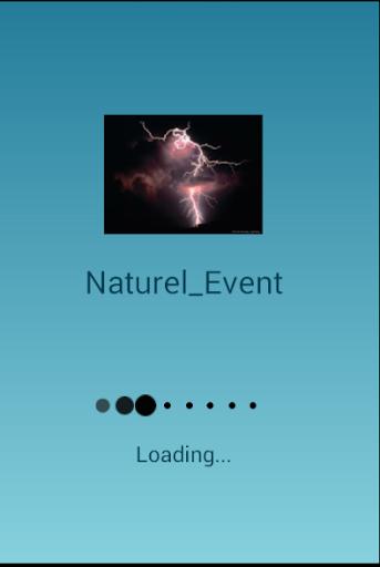自然な出来事