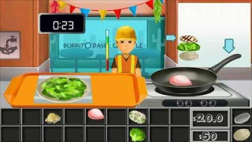 Omelette Cooking Game