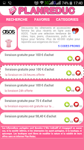 Plan Reduc Codes Promo Gratuit screenshot 1