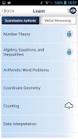 Screenshot of CAT MBA Exam Prep by MingleBox
